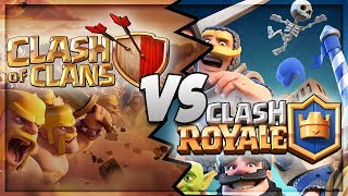 Скачать Clash Royale Vs Clash Of Clans Which Is Better