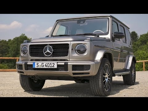 2019 Silver Mercedes-Benz G 400 D - Luxury Off-Road SUV
