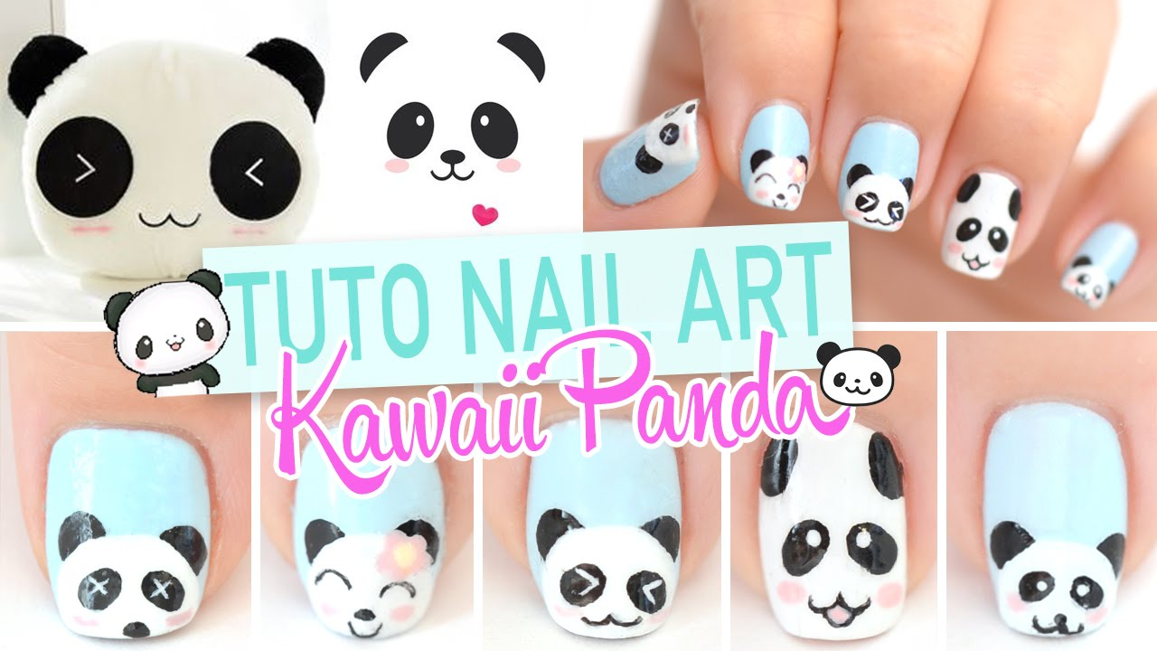 Nail art kawaii