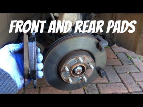 How To Change Brake Pads // Honda Civic 2015 9th Gen