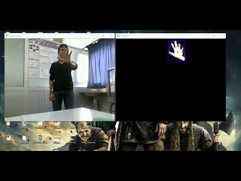 Hand Gesture Recognition Using Kinect's Geometric and HOG Features