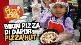 SERU! BIKIN PIZZA DI DAPUR PIZZA HUT   PIZZA MAKER JUNIOR