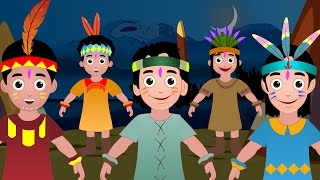 Ten Little Indians - Popular Nursery Rhymes Collection I Children Songs