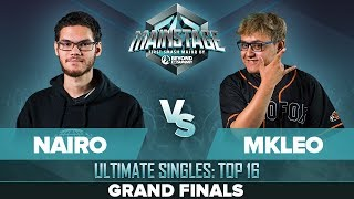 Nairo vs MkLeo - GRAND FINALS: Ultimate Singles - Mainstage | ZSS, Palutena vs Joker