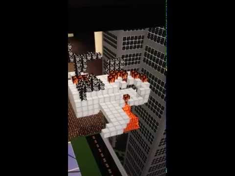 Minecraft in Augmented Reality (Powerhouse Museum, Sydney)