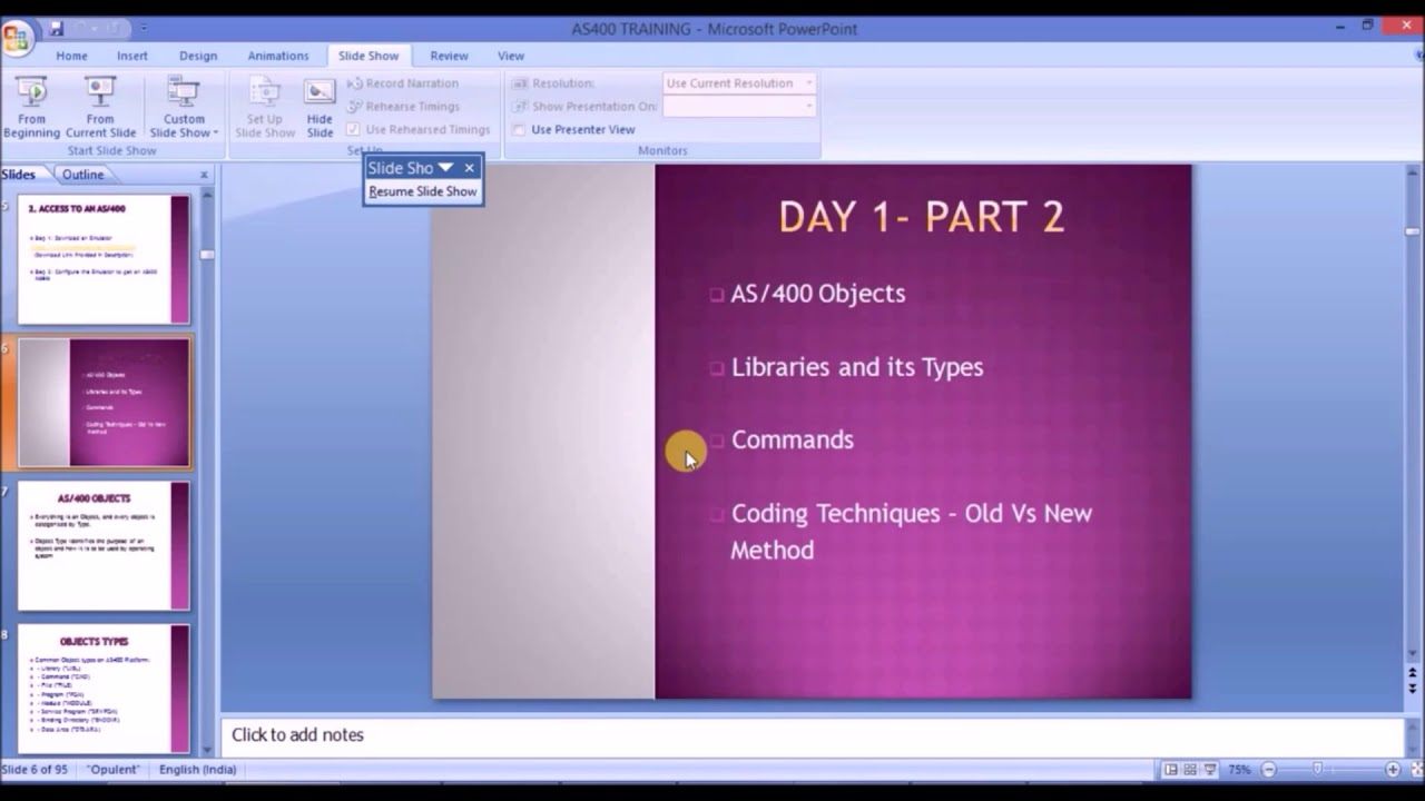 Objects, Libraries and Commands in AS400/IBM i |DAY 1| PART 2