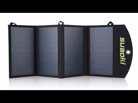 Солнечная панель Suaoki 25 Вт Solar Panel Suaoki 25 W