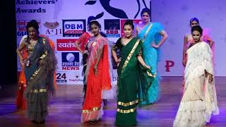 Designer Frill Sarees by Dr Rupinder Chatwal - Sequence 4