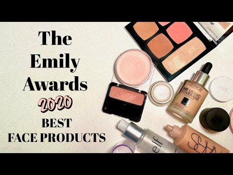 BEST FACE PRODUCTS OF THE YEAR | Emily Awards 2020 - YouTube