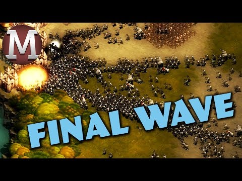 THE PEACEFUL LOWLANDS - FINAL WAVE - They Are Billions Gameplay #10