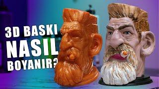 3D BASKI NASIL BOYANIR..?