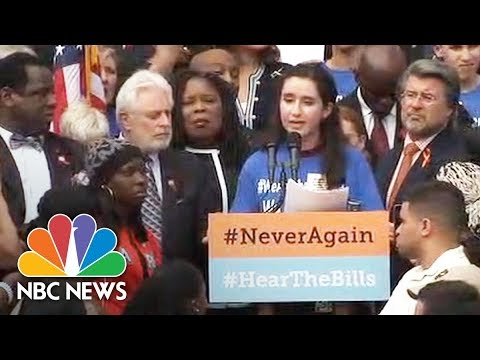 Florida School Shooting Survivors At Rally: No Better Time To Talk About Gun Control   NBC News