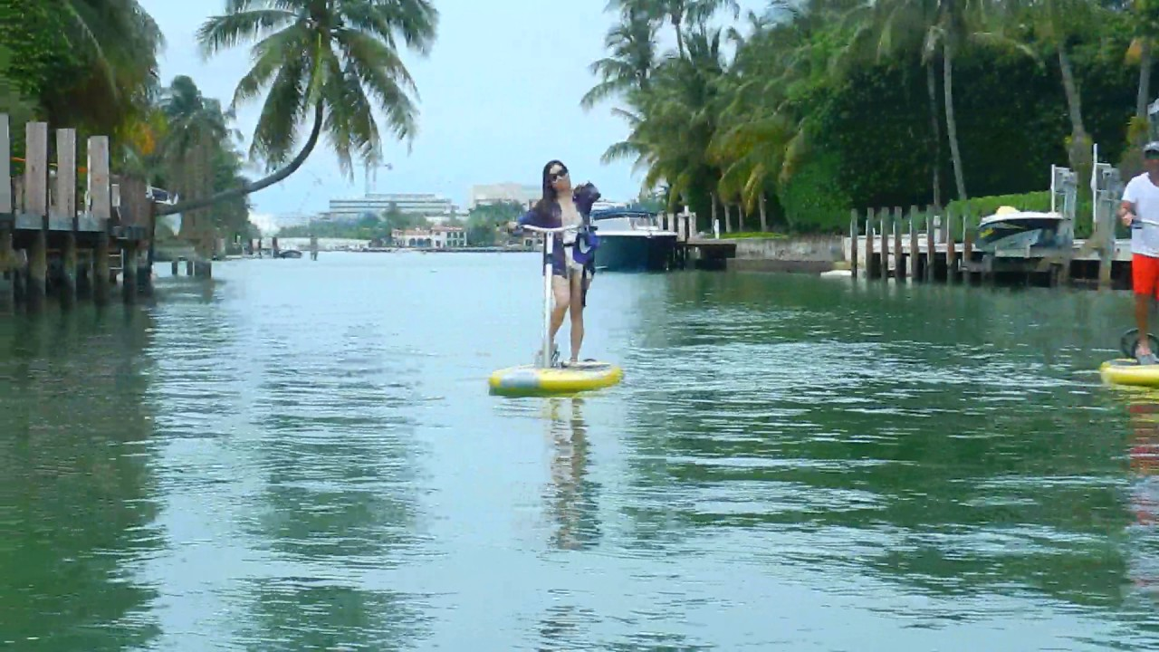 Paddle Board Miami Beach