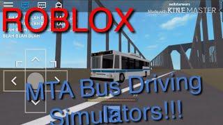 ROBLOX Driving MTA Bus To Coney Island!!!