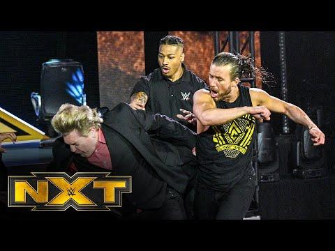 Adam Cole decks William Regal: WWE Network Exclusive, March 24, 2021