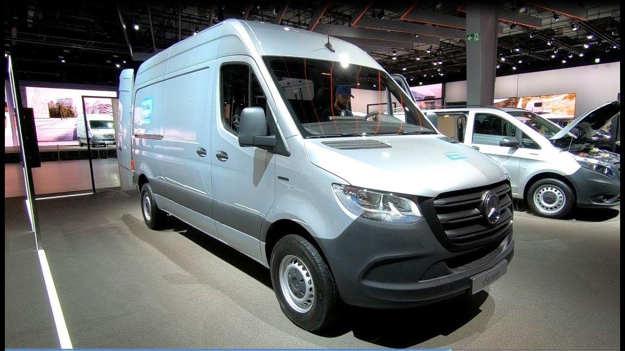 Mercedes Benz Esprinter All New Electric Sprinter Van Transporter Walkaround Interior