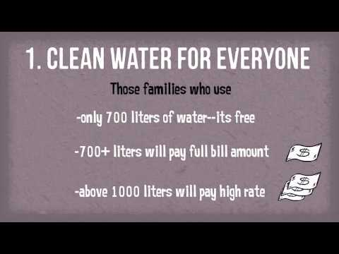 AAP Manifesto: Section 4--Delhi Water Supply