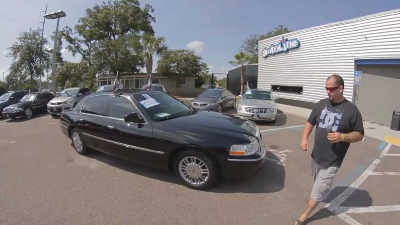 Autoline S 2008 Lincoln Town Car Signature Limited Walk Around