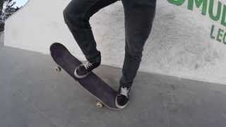 trick tip Ollie late shove-it Parque del arbol (co