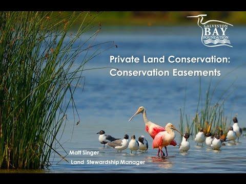 WEB Workshop: Part4_Conservation Easements
