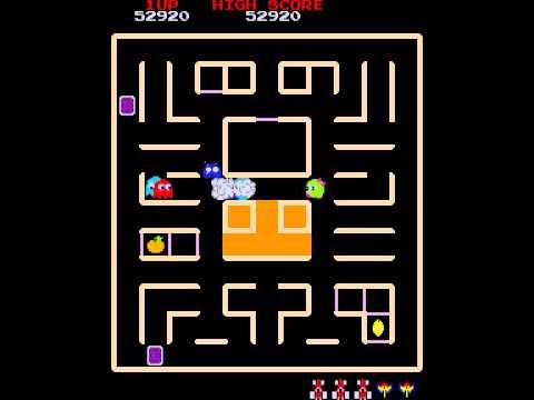 Arcade Game: Pac 'N Pal/Pac-Man & Chomp Chomp (1983 Namco)