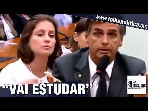Precisa estudar mais: Veja quando estudante tentou desmoralizar Bolsonaro e passou vergonha