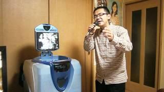 高田浩吉さんの曲で、 「伝七小唄」を歌いました。 平成24年6月12...