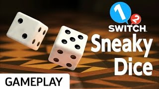 Lying About Rolls in Sneaky Dice on 1-2 Switch