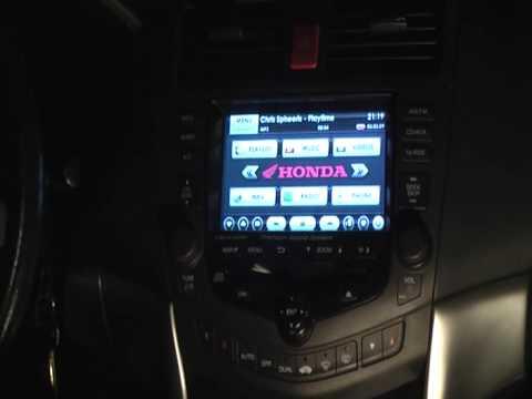 Honda Accord + GA-Net+ factory touchscreen&keys hack