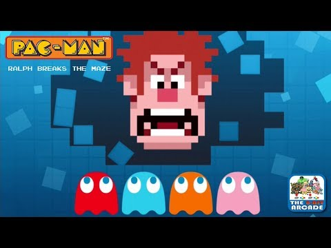 Pac-Man: Ralph Breaks The Maze - Wreck It Ralph Invades An Arcade Icon (iOS Gameplay)