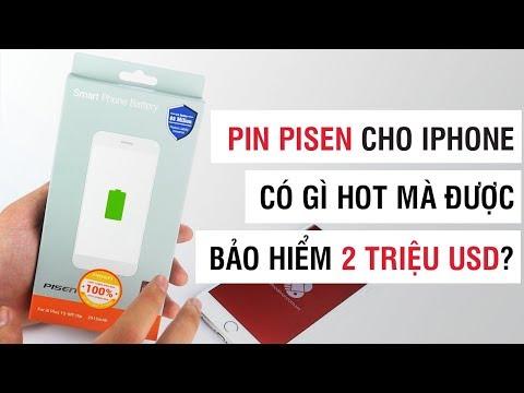 Pin Pisen cho iPhone có gì hot mà được bảo hiểm 2 triệu USD? - Điện Thoại Vui - 동영상