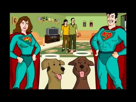 Cartoon Heroes:  SoCal Dog Training
