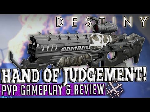 Destiny | HAND OF JUDGEMENT! - PvP Gameplay & Review! (April Update)