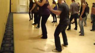 Soul Food line dance - informal teach at Boston Showdown 2011 by Joey on UK Julie