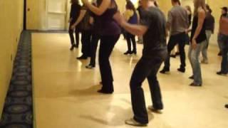 Soul Food line dance - informal teach at Boston Showdown 2011 by Joey on UK Julie