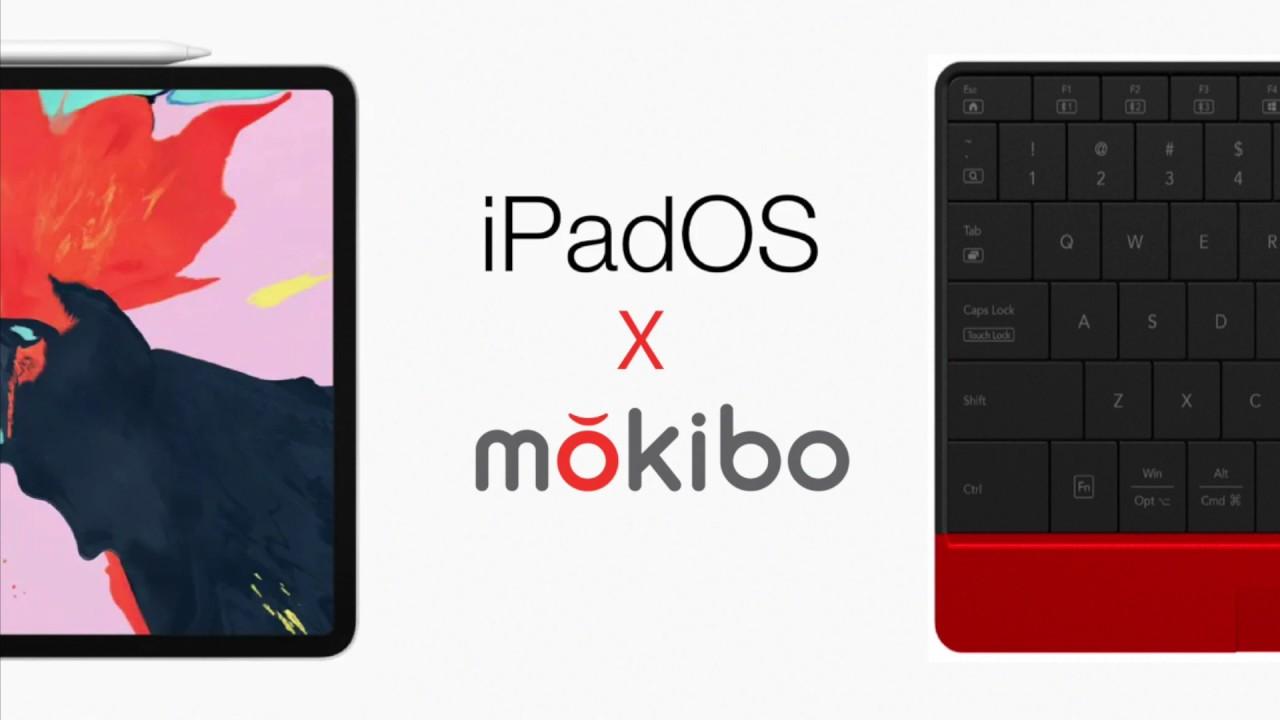 US Mokibo + Smart Cover (Red) video thumbnail