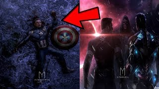 Avengers 4 EndGame CAPTAIN AMERICA & IRONMAN DEATH REVEALED In Infinity War EXPLAINED! You Will CRY