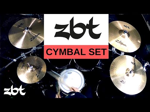 Zildjian - ZBT Cymbal Set (Sound Demo)