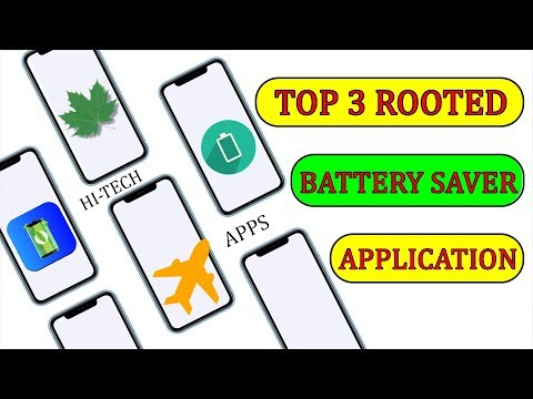 Top 3 Best Apps To Save Battery For Rooted Mobile || 2019 New Apps