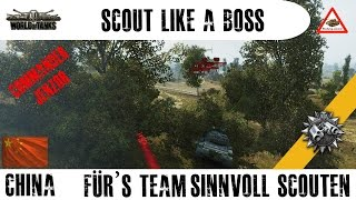 World of Tanks - Scout like a Boss - Type 59 mini (Type 62) Scouting & Team support (HD) (60p)