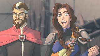 Extinction - All Cutscenes Animated Cartoon (Two Endings)