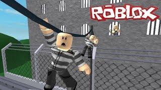 Escape from prison!?! Roblox