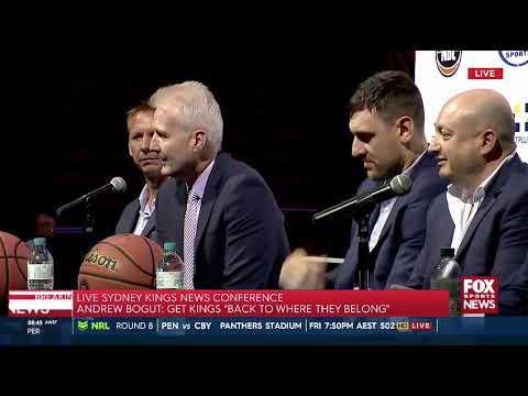 Press Conference - Andrew Bogut Sydney Kings Announcement
