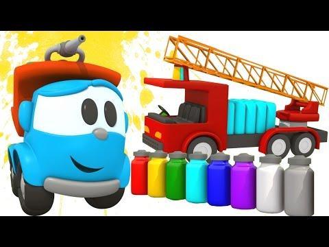 3d мультфильмы про машинки. Грузовичок Лева Малыш и Кабриолет.  Развивающие машинки