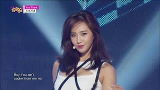 【TVPP】  SNSD - You Think, 소녀시대 - 유 싱크 @ Comeback Stage, Show! Music core