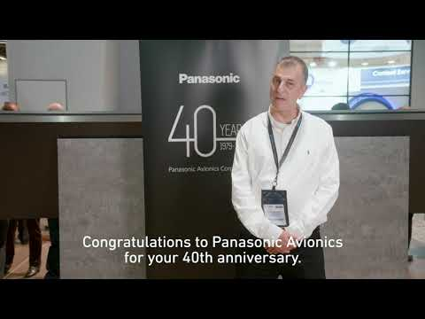 Panasonic Avionics 40 Year Anniversary - El Al wishes us Happy Birthday