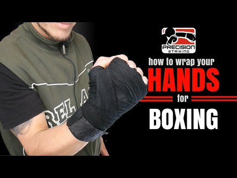 How To Wrap Your Hands For Boxing | Protect Your Hands For The Long Run