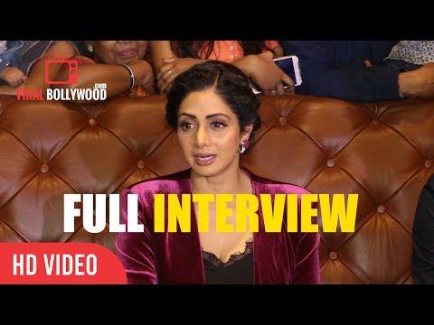 Sridevi Full Interview | Mom Success Screening | Ravi Udyawar