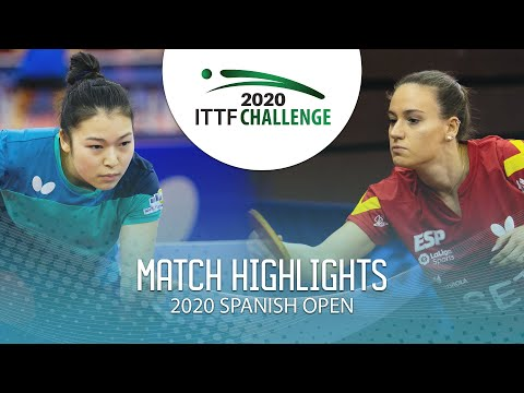 Yuki Tsutsui Vs Marina Niguez   2020 ITTF Spanish Open Highlights (Group)
