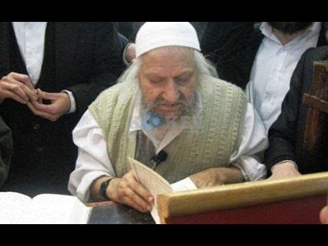 הרב זאב ליבוביץ חכם אברהם חי ואליהו הנביא!! מדהים!!!